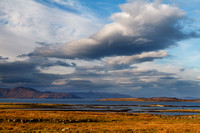 Isles of Raasay and Pabay from Ashaig, Lower Breakish. Isle of Skye. Scotland.