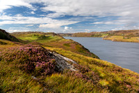 Loch Inchard. Colours of late Summer. Sutherland. Scotland.