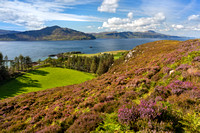 Isle of Raasay. Trotternish Ridge, Skye.   High Summer. Highlands and  Islands. Scotland.