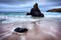 Sango Sands. Wizards Hat Rock. Durness. Sutheralnd. Northern Scotland.