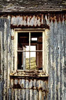 Isle of Scalpay. Peeling Paint and Rust.   Eilean Siar, Scotland.