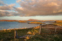 Clachan Baleshare Sunset. North Uist. Western Isles. Scotland.