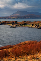 Tarskavaig Bay. Cuillin View. Isle of Skye. Scotland.